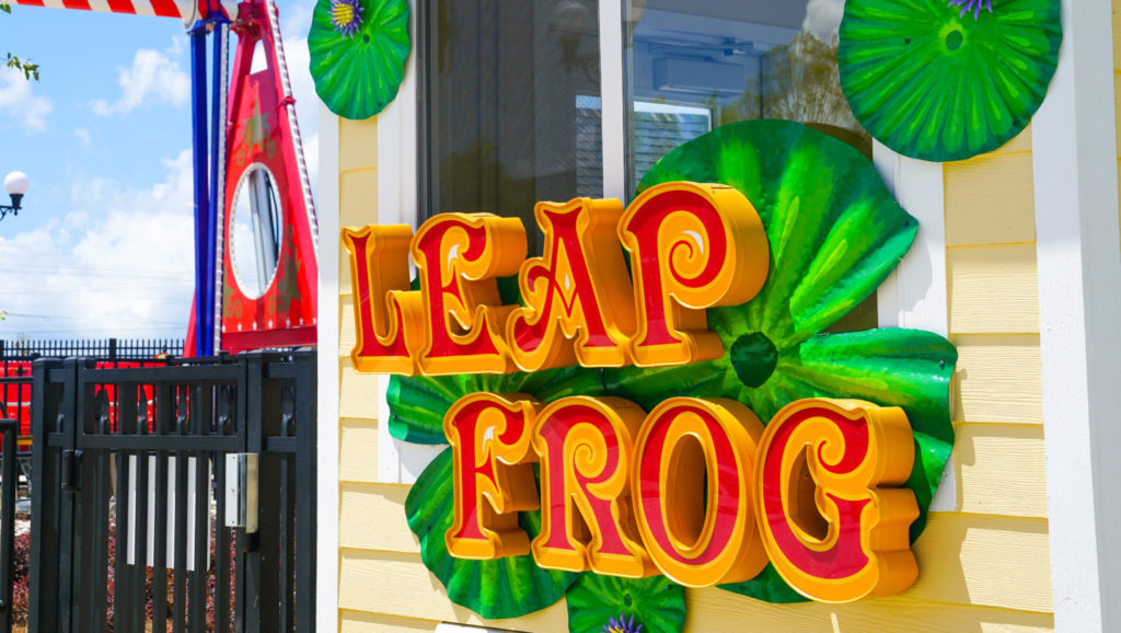 The Leap Frog sign