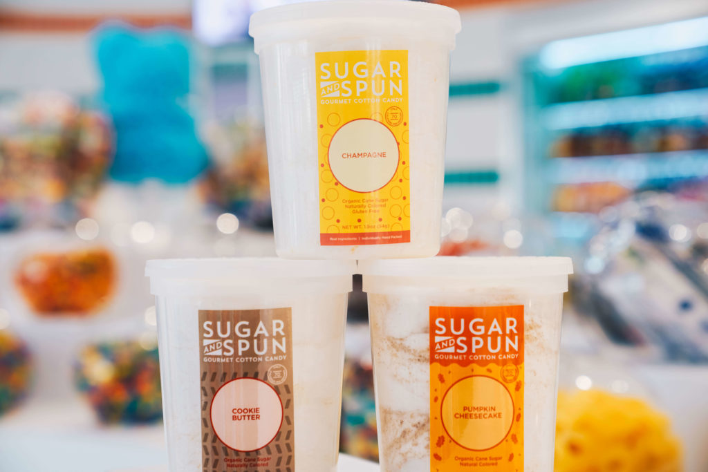 Sugar & Spun gourmet cotton candy