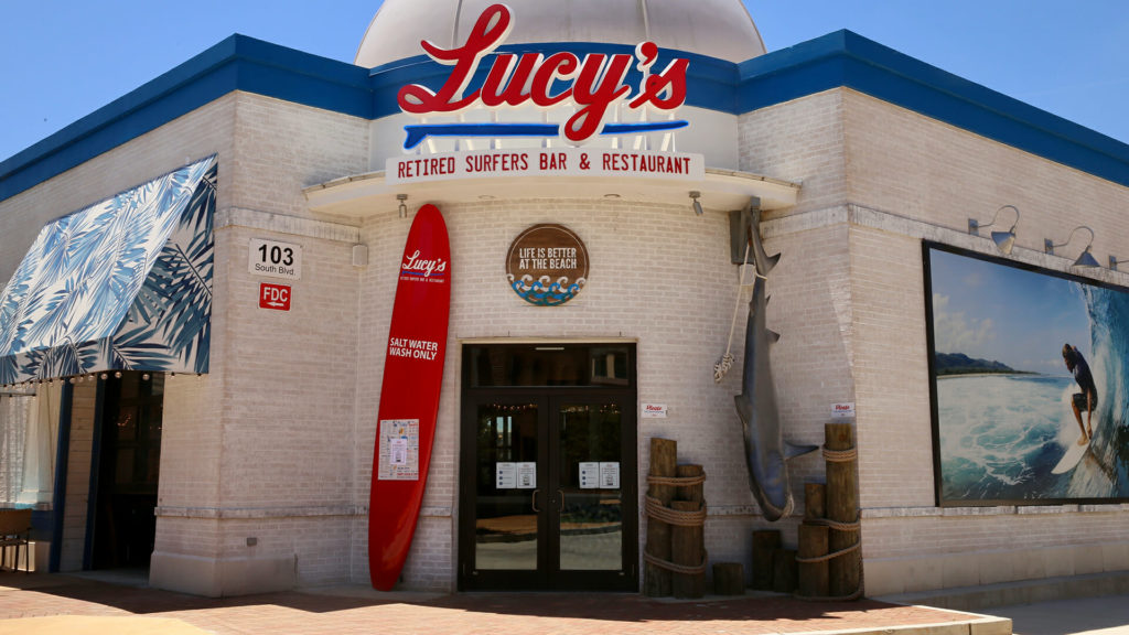 The exterior of Lucy's