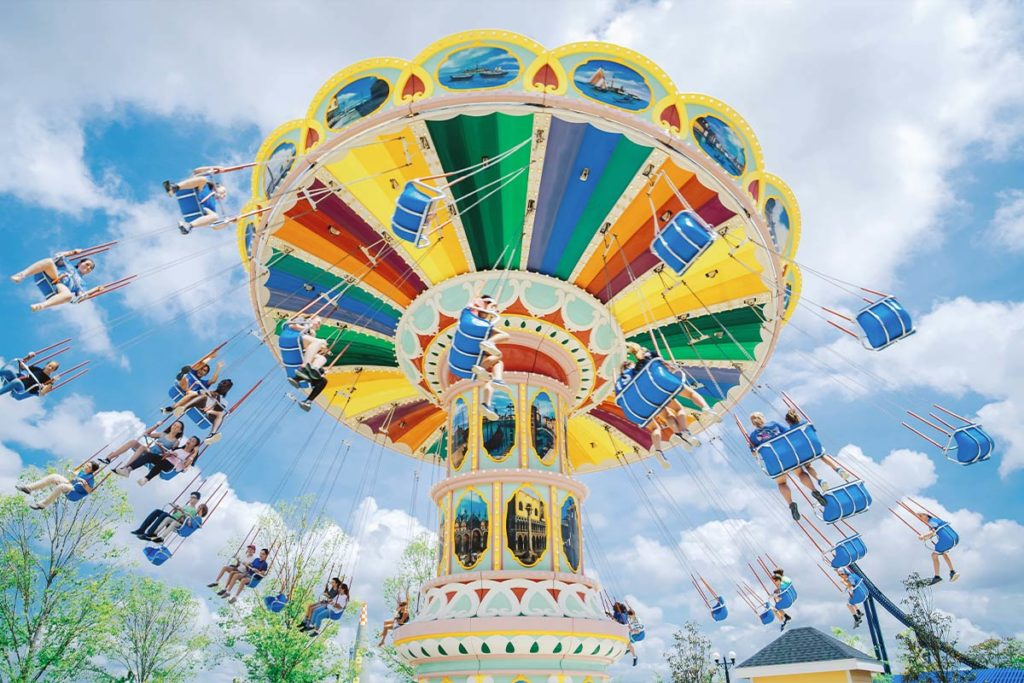 Riders on the Flying Carousel