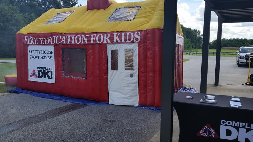 Fire education exhibit