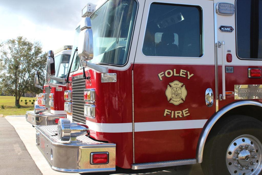 A Foley fire truck