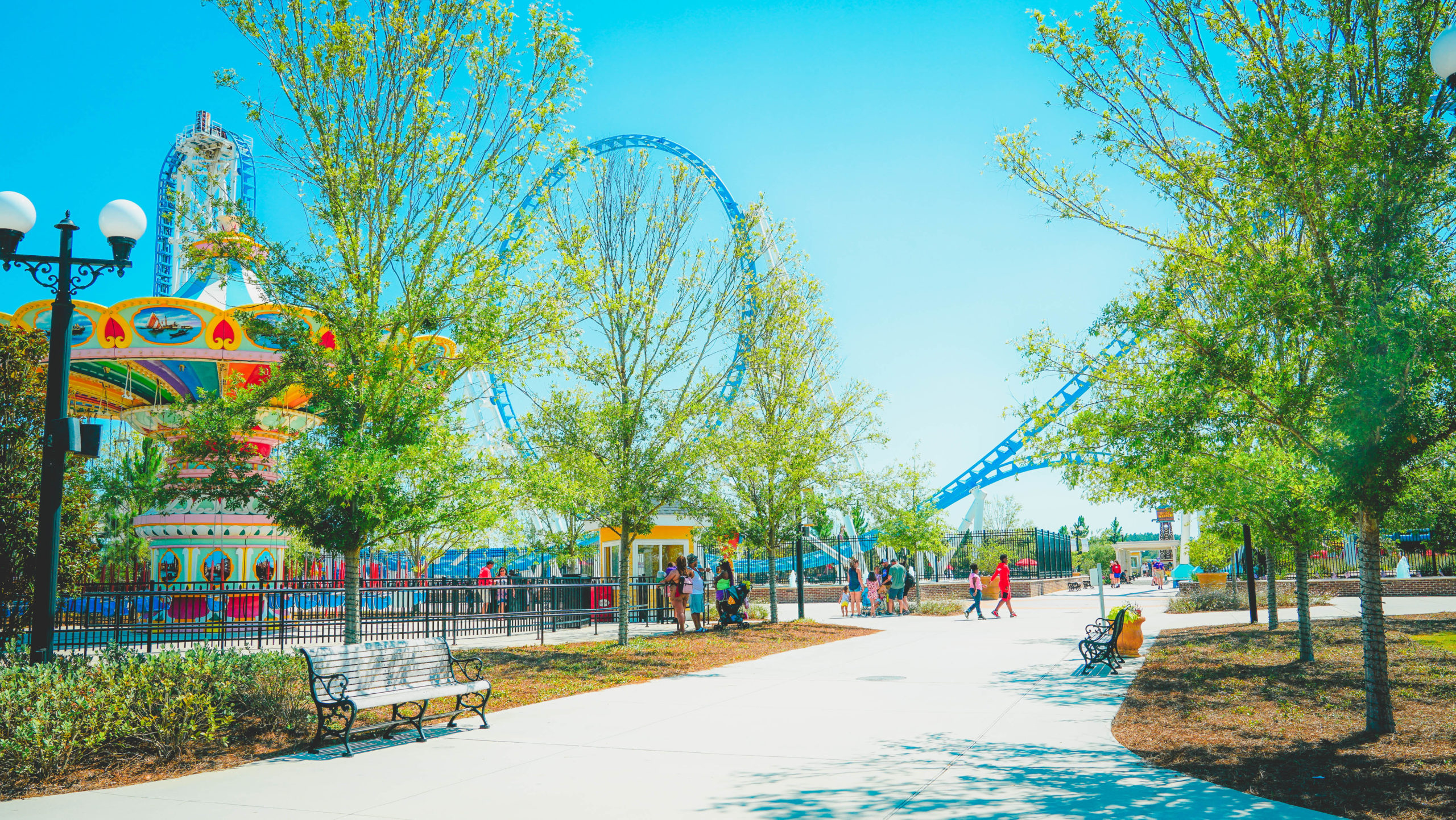 A wide view of The Park at OWA