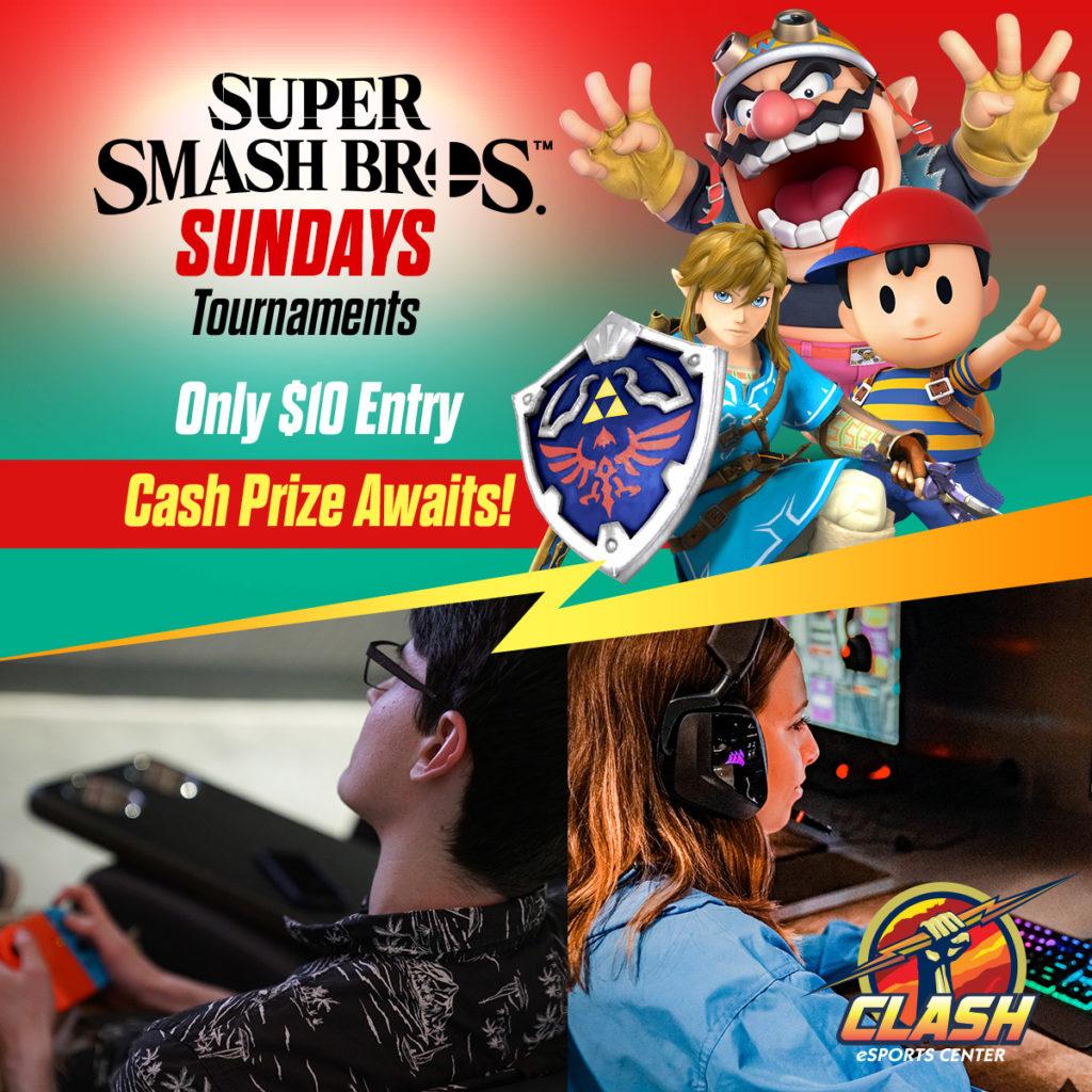 Super Smash Bros. Tournaments, Only $10 Entry, Cash Prize Awaits!